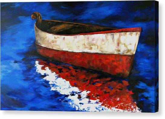 The Wright Boat Canvas Print