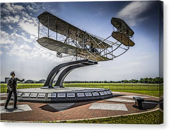 The Wright Flyer Canvas Print