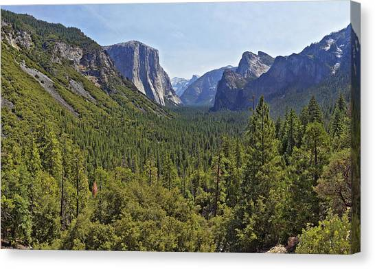 The Yosemite Valley Canvas Print