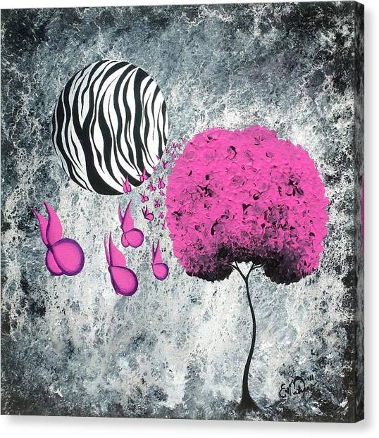 The Zebra Effect 1 Canvas Print