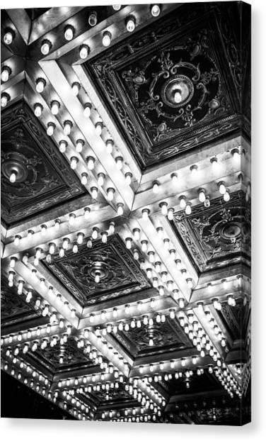 Theater Lights Canvas Print