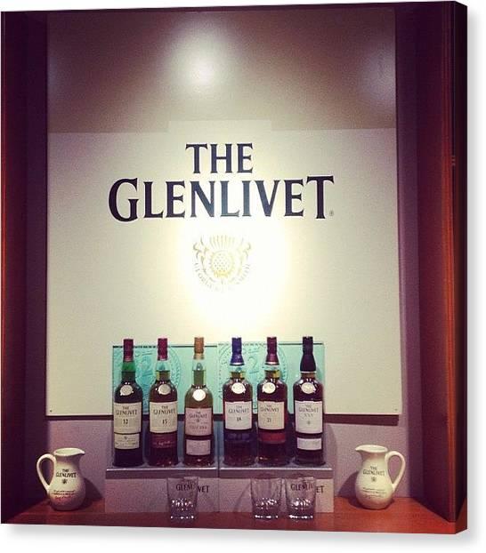 Scotch Canvas Print - #theglenlivet#whisky#glenlivet#scotch by Alex Mitchell