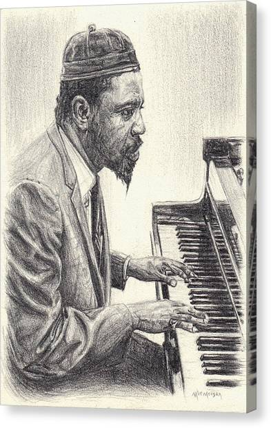 Thelonious Monk II Canvas Print