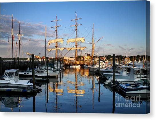 Then And Now Canvas Print by Butch Lombardi