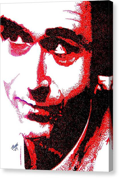 Ted Bundy Canvas Print - Theodore by Jeremy Moore