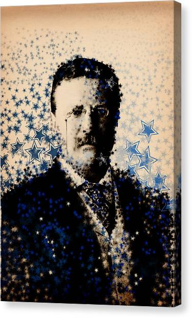 Theodore Roosevelt Canvas Print - Theodore Roosevelt 3 by Bekim Art