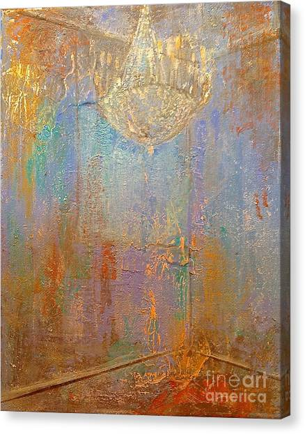 There Is Light In The Room Canvas Print