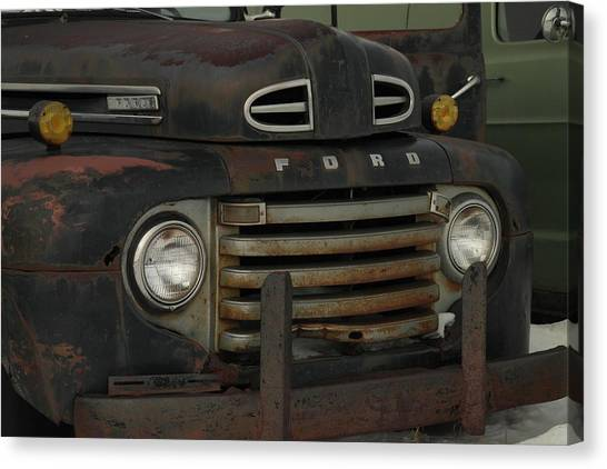 There Is Nothing Like An Old Ford Canvas Print