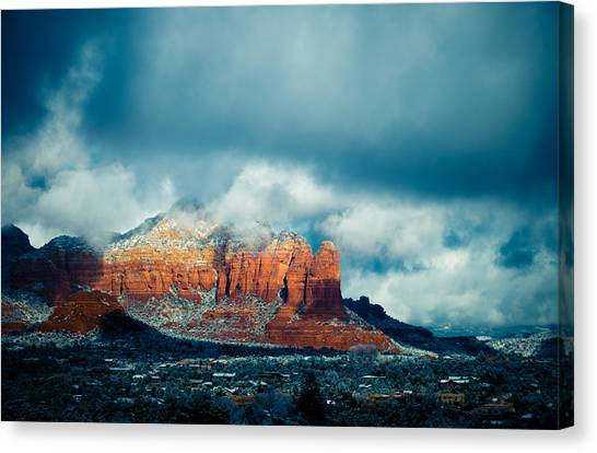 There's A Place Canvas Print by Roger Chenery