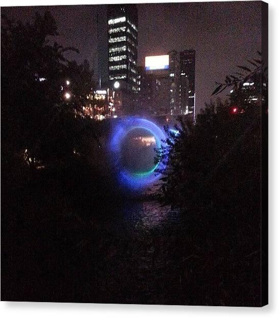 Portal Canvas Print - Theres A #portal Opening At by Jive Soo
