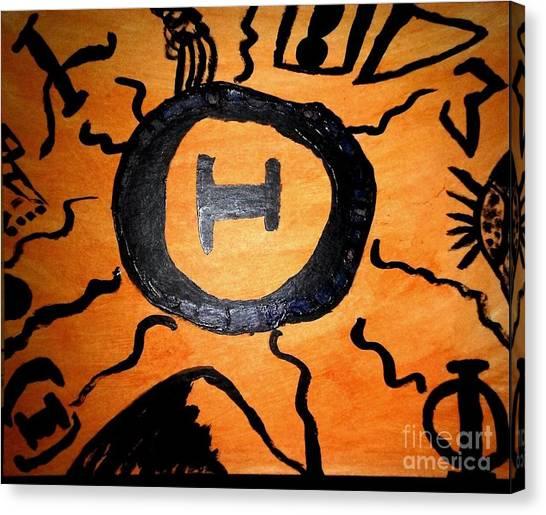 Sigma Chi Canvas Print - Theta Mountain Portal by Shana'e Le-Poet