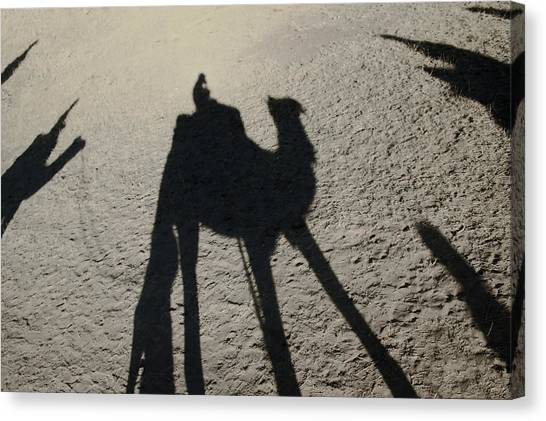 Thar Desert Canvas Print - They Came From The East by A Rey