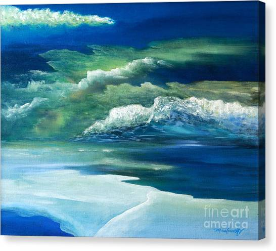 Thin Ice Canvas Print