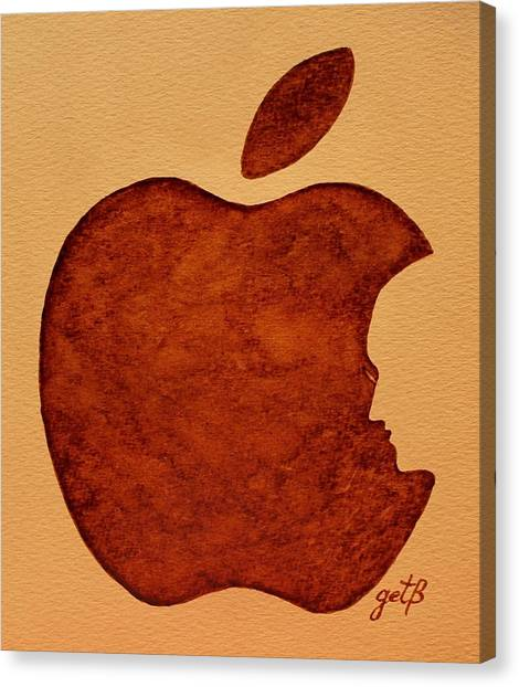 Think Different Steve Jobs 3 Canvas Print