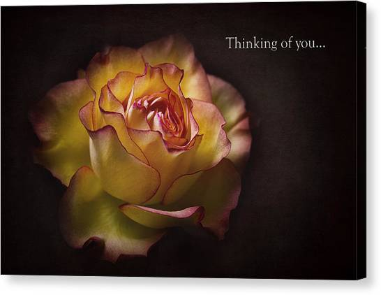Thinking Of You... Canvas Print