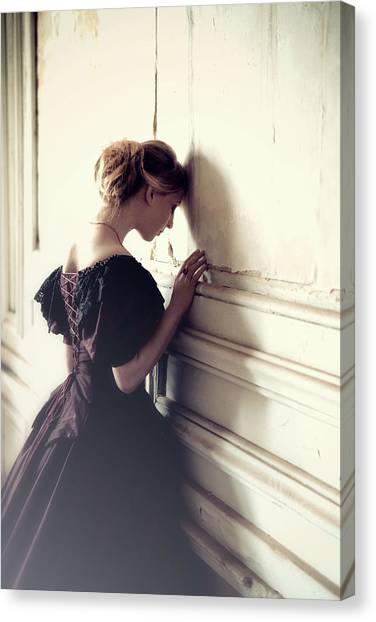 Dress Canvas Print - Thinloth by Magdalena Russocka