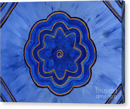 Third Eye Flower Canvas Print