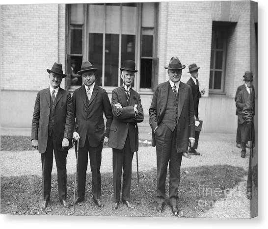 Conference Usa Canvas Print - Third Us National Radio Conference, 1924 by Library Of Congress