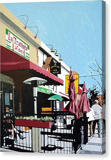 Thirty Sixth And J Canvas Print by Paul Guyer