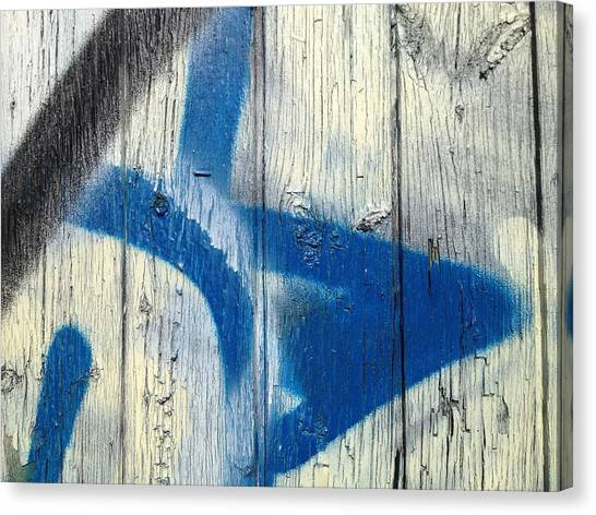 Trout Canvas Print - this fence II by Kreddible Trout