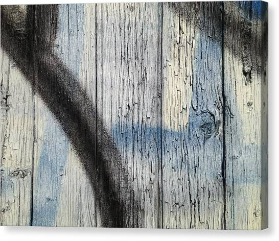 Trout Canvas Print - this fence III by Kreddible Trout