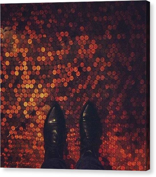 Syracuse University Canvas Print - This Floor Is Made Of Pennies. #pennies by Brooklyn Cole