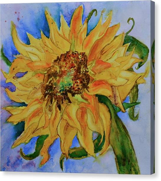 This Here Sunflower Canvas Print