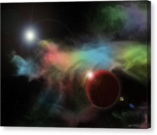 This Is Not Space Canvas Print