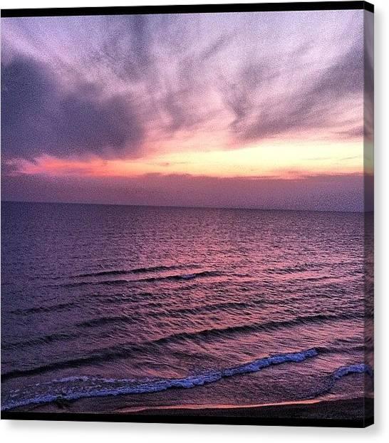 Lake Michigan Canvas Print - This Is #puremichigan by Joe Minock