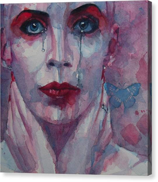 Clubs Canvas Print - This Is The Fear This Is The Dread  These Are The Contents Of My Head by Paul Lovering