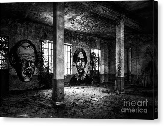 This Is The Way Step Inside Canvas Print