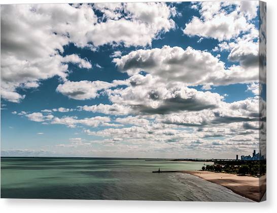 This Is What 58 Degrees Looks Like Canvas Print