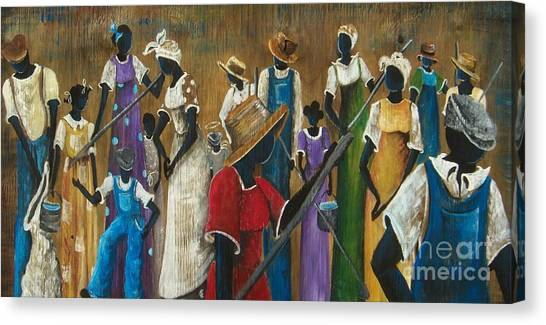 This Joy I Have Canvas Print by Sonja Griffin Evans