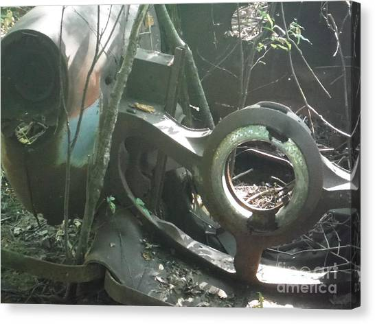 This Old Car Canvas Print by Linda Walker