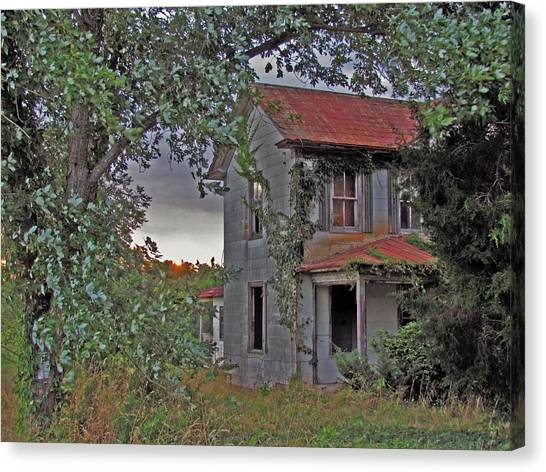 This Old House Canvas Print by Trish Clark