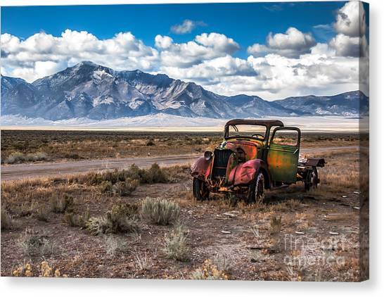 Sublime Canvas Print - This Old Truck by Robert Bales