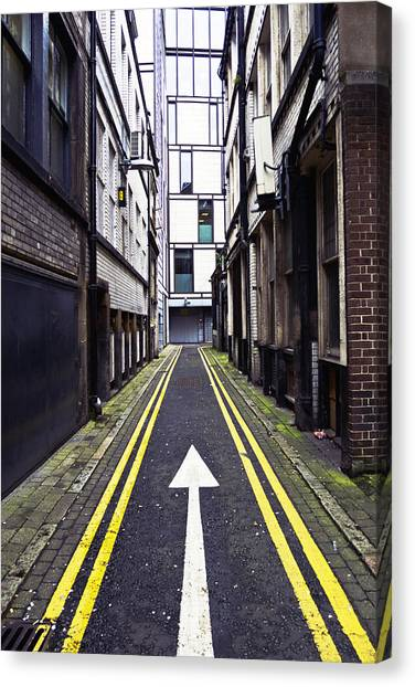 One Direction Canvas Print - This Way by Nick Barkworth