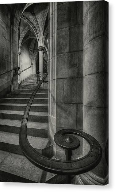 Gothic Art Canvas Print - This Way Up by Christopher Budny