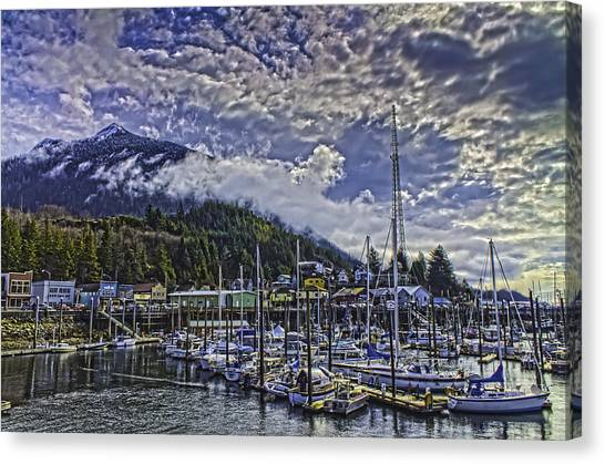 Thomas Basin In The Spring. Canvas Print