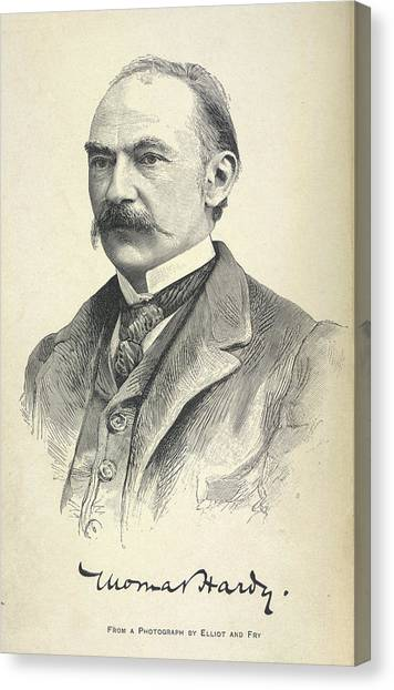 English And Literature Canvas Print - Thomas Hardy by British Library