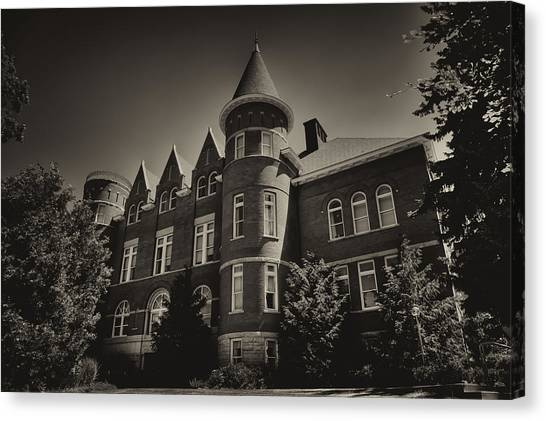Washington State University Canvas Print - Thompson Hall - Washington State University by David Patterson