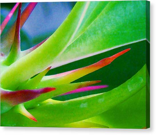 Thorn In Your Side Canvas Print by Rebecca Flaig