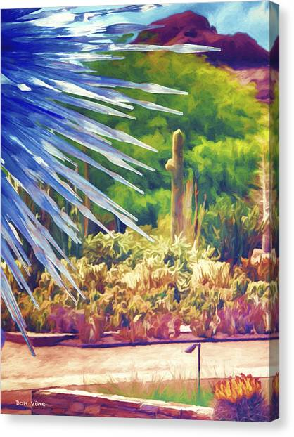 Thorns Of Glass Canvas Print