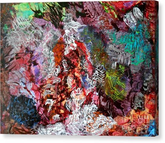 Thoughts Canvas Print by Danya Hammoudi