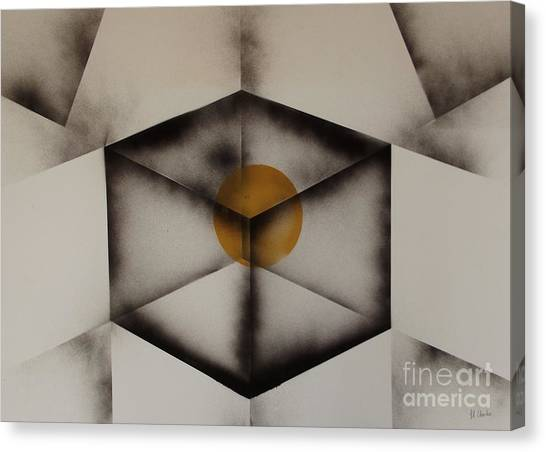 Thoughts Outside The Box. Canvas Print