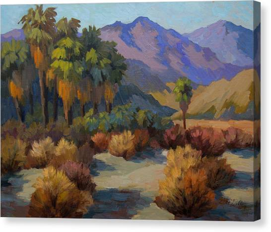 Canaries Canvas Print - Thousand Palms by Diane McClary