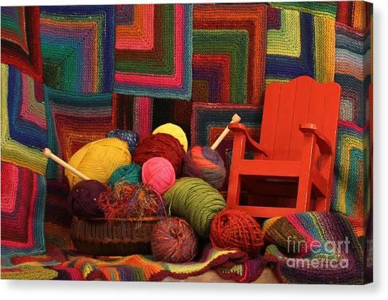 Threads Of The Soul Al Profits Benefit Hospice Of The Calumet Area Canvas Print