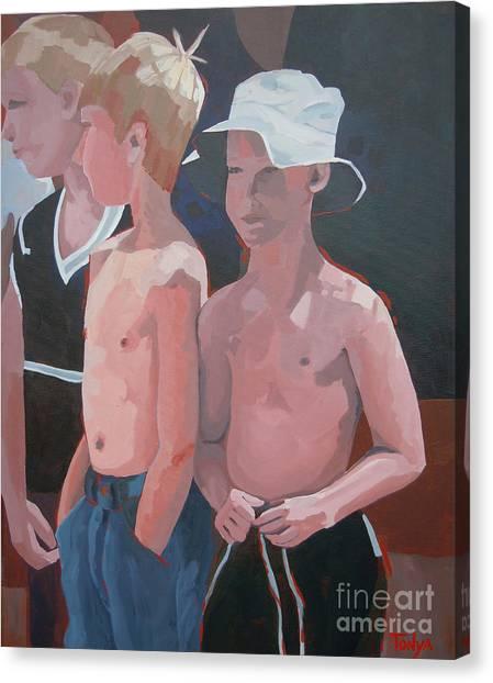 Three Boys Canvas Print