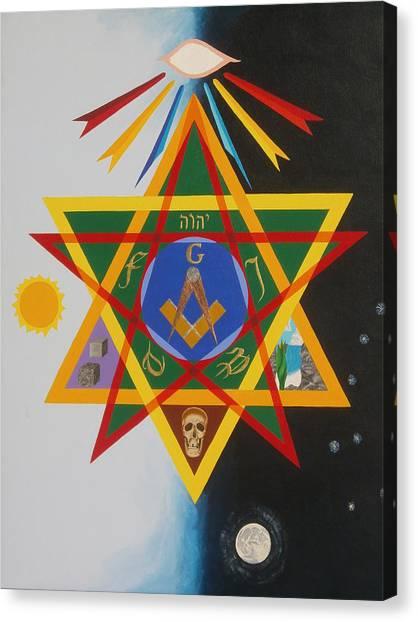 Three Degrees Canvas Print by Adrien Barlow