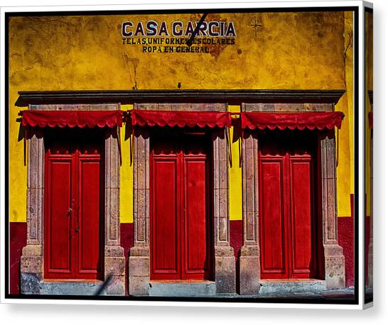 Three Doors Down Canvas Print